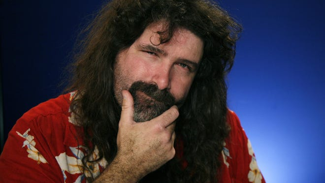 Mick Foley is a best-selling author and a WWE Hall of Famer.