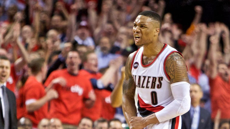 Damian Lillard scored a game-high 32 points for the