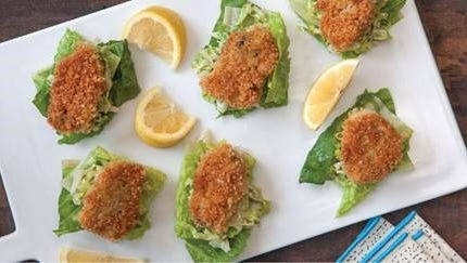 Guests to Whole Foods Cherry Hill can sample Crispy Baked Oyster.