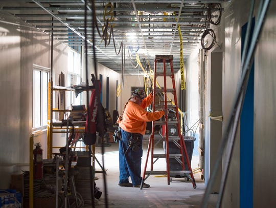 Construction continues on renovations to Hudson Elementary