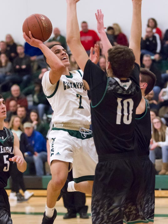 Boys Basketball: Greendale at Greenfield