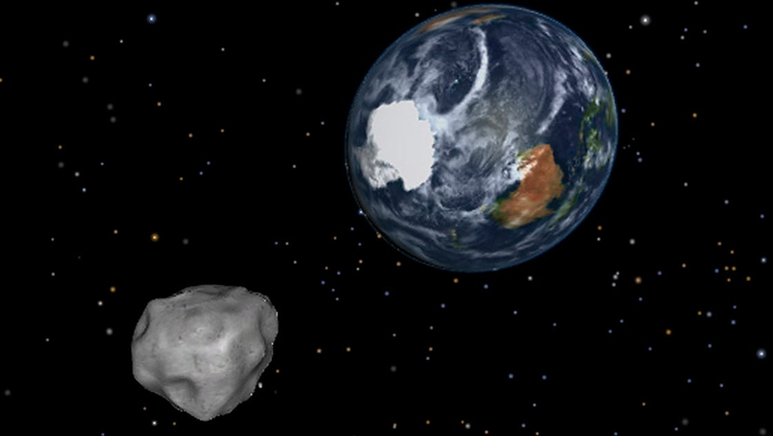 Asteroid angst? Don't panic. NASA alert system will give ...