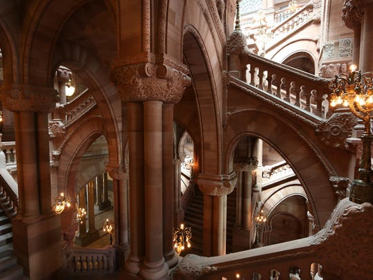 "Architect Isaac Gale Perry oversaw the final construction at the State Capitol in Albany, including the Great Western Staircase (also known as the ""Million-Dollar Staircase""). A discussion of Perry's life and work will be offered on Saturday and Sunday at Phelps Mansion Museum in Binghamton."