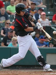 ByungHo Park hit 10 home runs for the Red Wings at