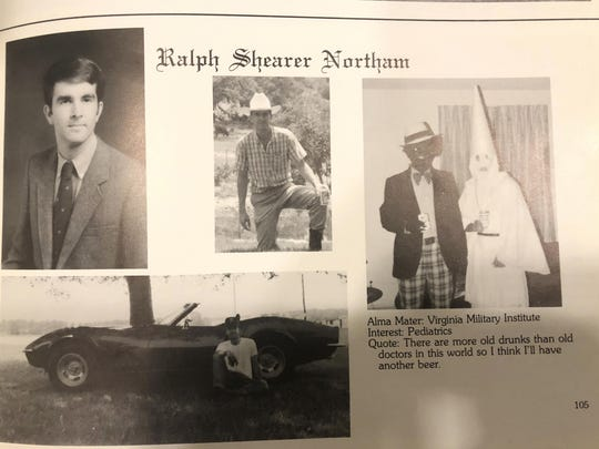 Governor Klan Blackface