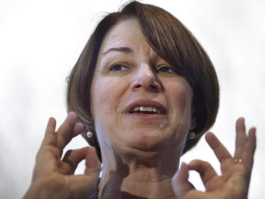 U.S. Sen. Amy Klobuchar, D-Minn