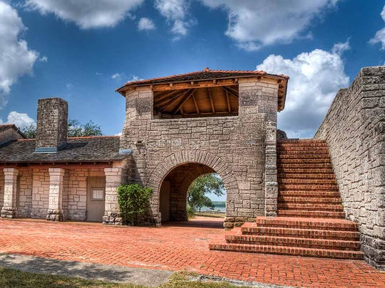 The Old Park Pavillion, otherwise known as Lake Corpus Christi Castle, located in Mathis is another popular spot to take photos in the Coastal Bend.