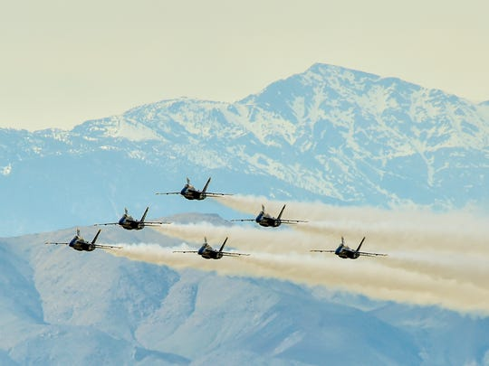 The U.S. Navy Flight Demonstration Squadron Blue Angels