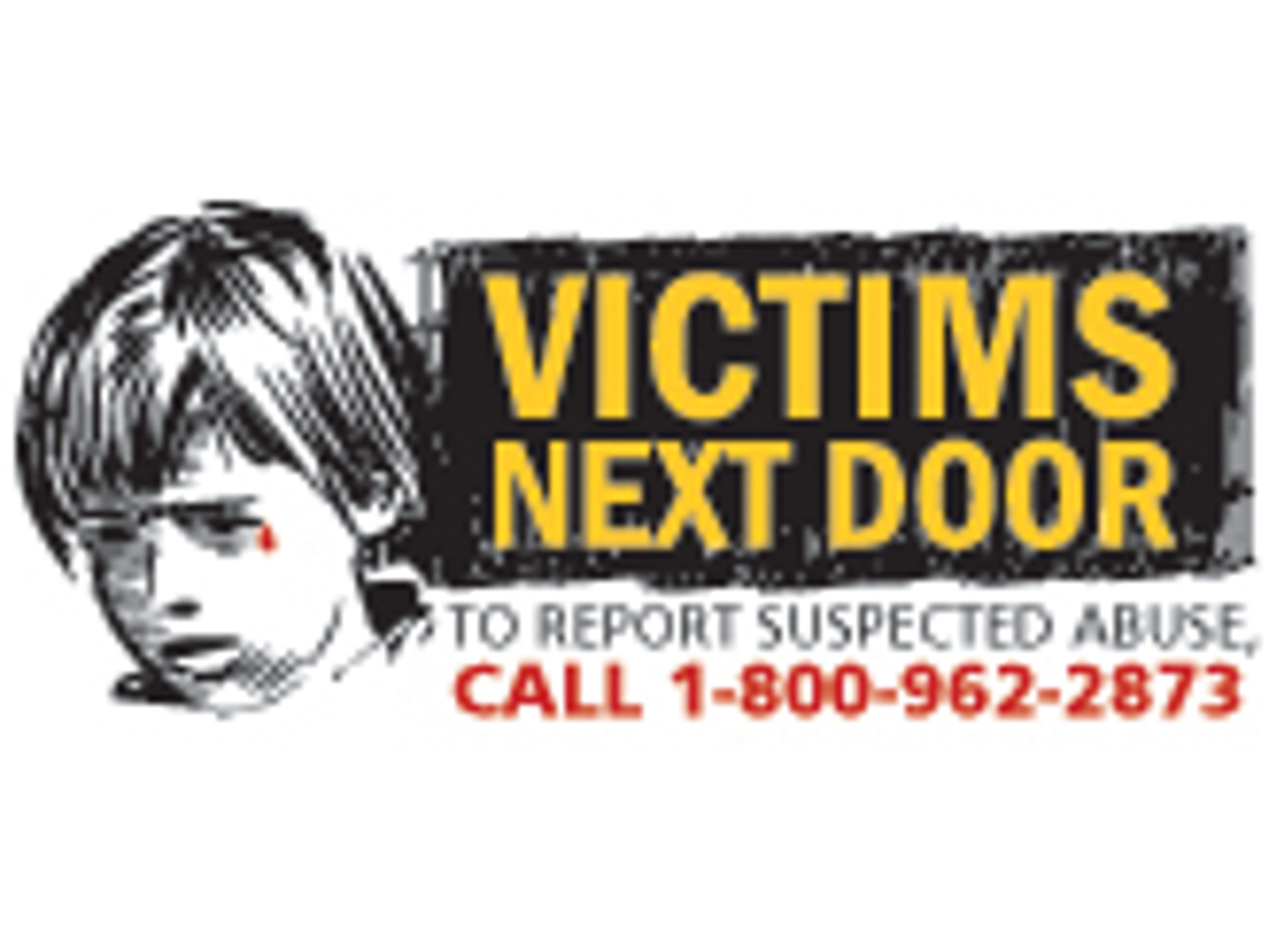To report suspected abuse, call 1-800-962-2873.
