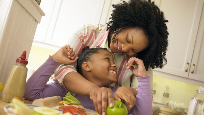 Children will watch and emulate what their parents eat.