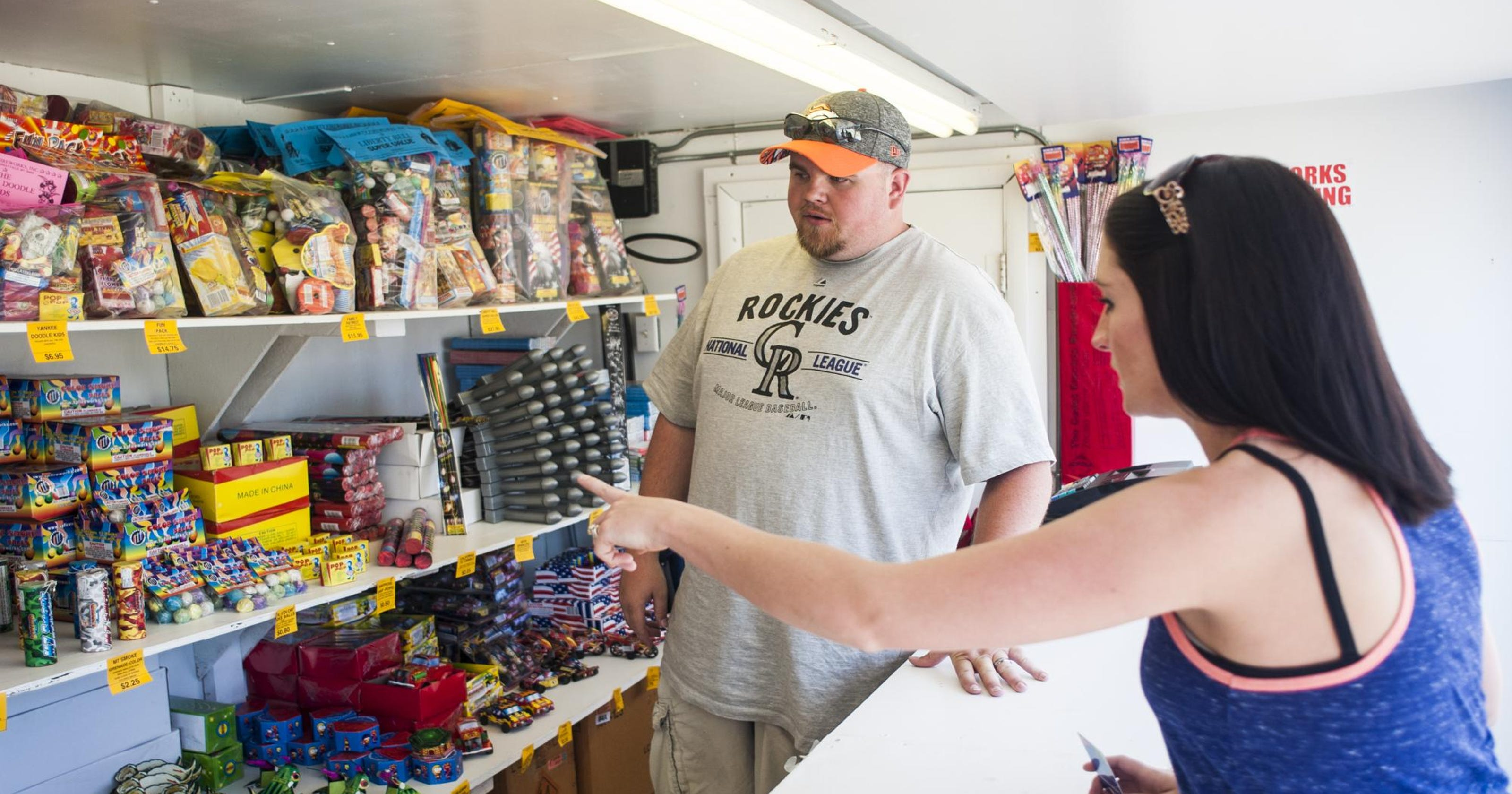 Fireworks sales don't fizzle after the Fourth