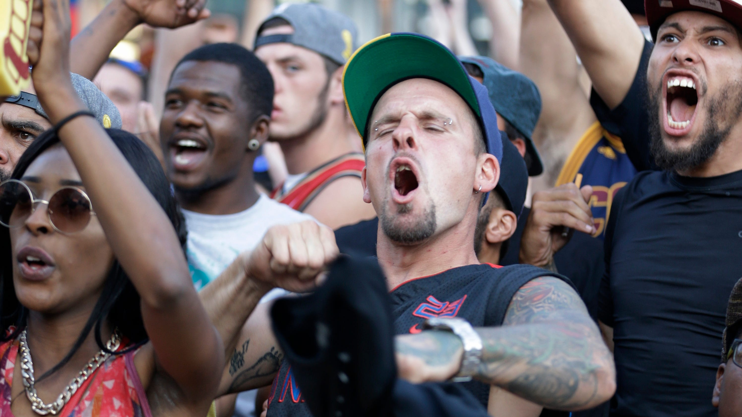 The End: Cleveland rocks as title drought ends in NBA Finals