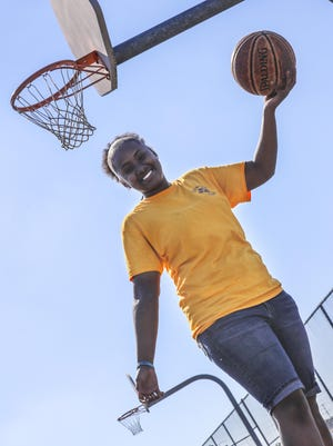 Luxury Vance loves basketball. A look at Luxury, a little over one year after she was shot at a family barbecue. How has her recover been and how basketball played a big part in getting her back on the right track.