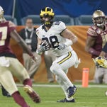Report: Michigan's Jake Butt has his second torn ACL