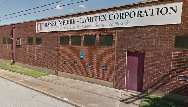 Industrial plastics manufacturer Franklin Fibre-Lamitex Corporation is facing $86,600 in fines after being cited for a dozen safety violations.