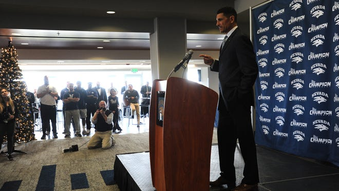 New Wolf Pack head football coach Jay Norvell has put together an eclectic staff of assistants.