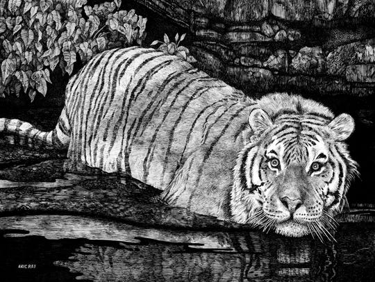 """""""Tiger Fording the River"""""""
