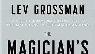 """This book cover image released by Viking shows """"The Magician's Land,"""" by Lev Grossman."""