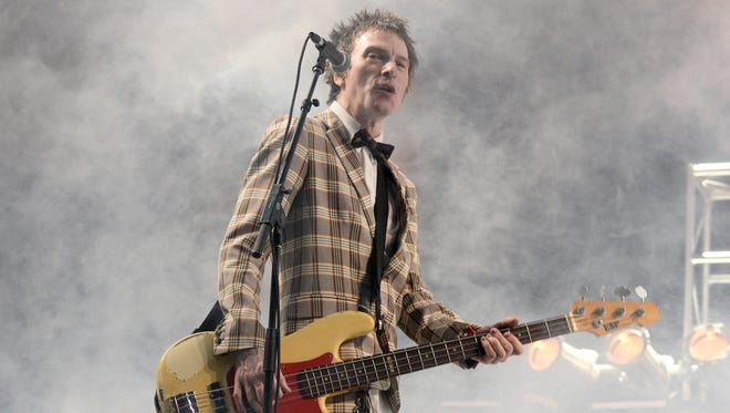 Tommy Stinson of The Replacements performs Wednesday night in Ithaca