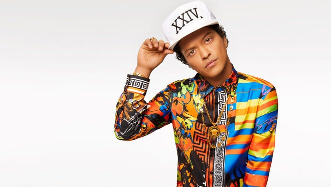 Bruno Mars, 31, is back with his third album, '24K Magic.'