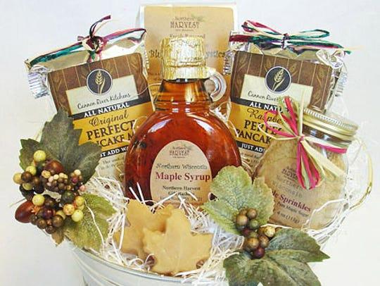 """WisconsinMade's """"Breakfast Treats Gift Bucket"""" features"""