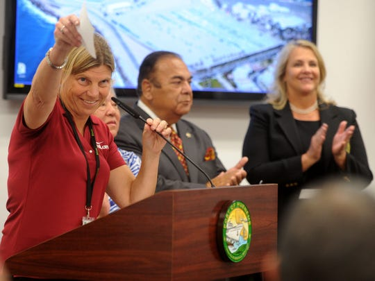 Kristin Decas, CEO and director of the Port of Hueneme,