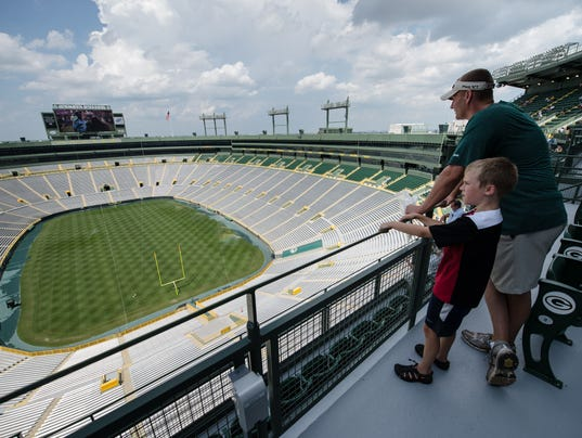 The Green Bay Packers Are Selling A Limited Number Of Standing Room Only Tickets Behind Section 434S In South End For Its Game Sunday Against