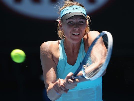 Sharapova wins
