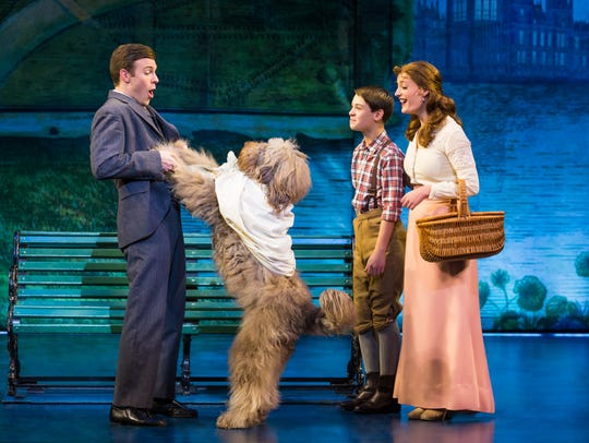 """A scene from """"Finding Neverland"""""""