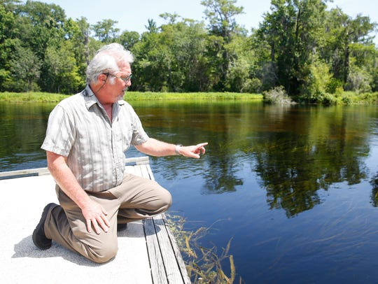 Dr. Sean E. McGlynn, director of the Wakulla Springs