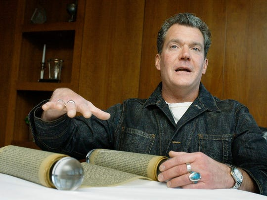 "Jim Irsay, owner of the Indianapolis Colts, talks about his purchase of the original manuscript of the first draft of Jack Kerouac's  ""On The Road."""