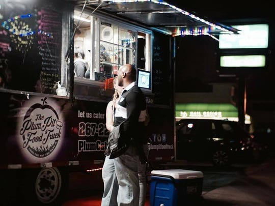 The Plum Pit food truck has been serving late night snacks near Wilmington's Trolley Square over the past year.