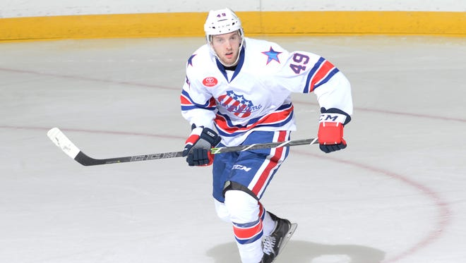 After playing in just 13 of the first 36 games, Matt Prapavessis has been in the Amerks lineup for 11 straight.