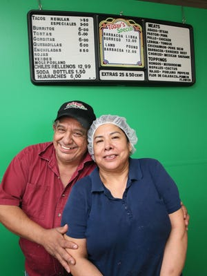 Juan and Guadalupe Ortiz, shown behind the counter at Chilango Express, 6821 W. Lincoln Ave. in West Allis, will move the restaurant three blocks away, into the former Sofia's Italian restaurant.