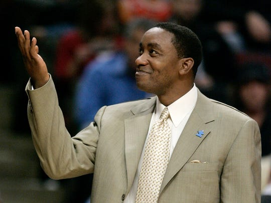 Former Knicks coach Isiah Thomas