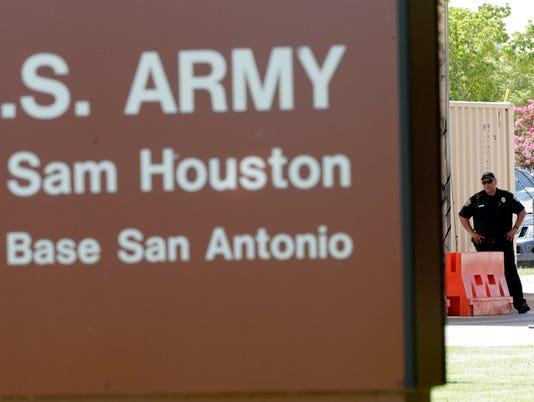 AP Fort Sam Houston Shooting