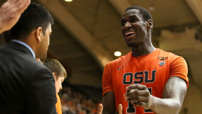 Senior forward Daniel Gomis is among five returning starters for the Beavers.