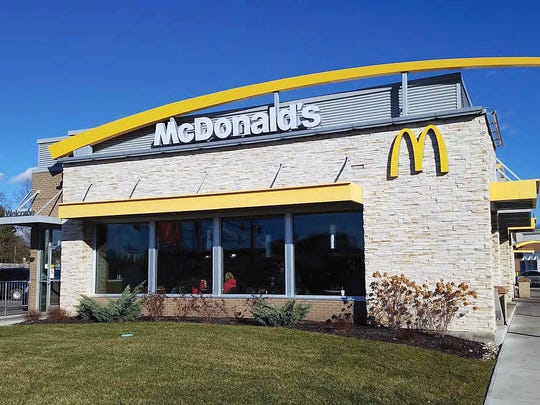 The Nilles Road McDonalds, which opened in 1976, will be torn down and replaced with a newer, fresher design, similar to this.