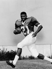 1967: Kentucky's Nate Northington broke the SEC football color barrier. LSU and Ole Miss were the last two league teams to have black players on their varsity teams in 1972.