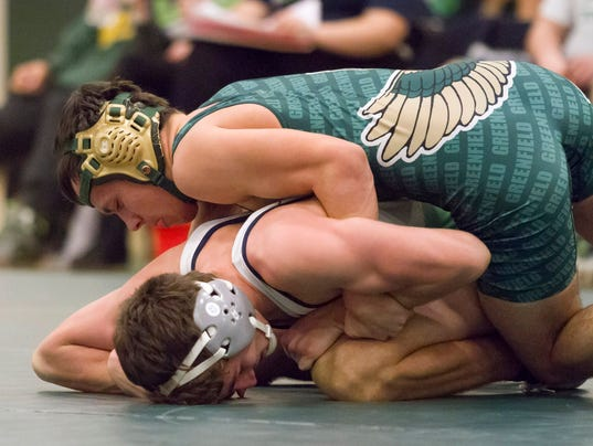 Wrestling: Whitnall/Greendale at Greenfield