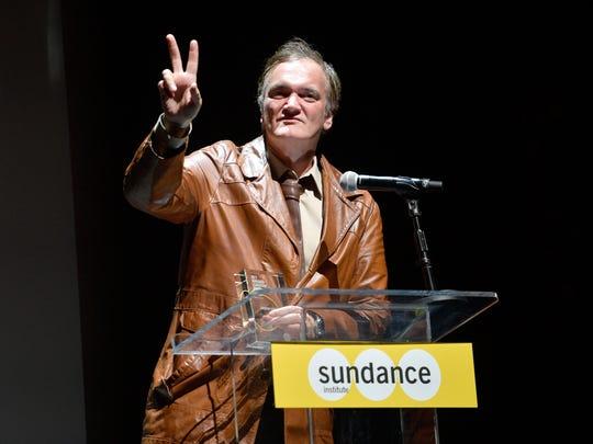 Quentin Tarantino at Sundance NEXT FEST After Dark