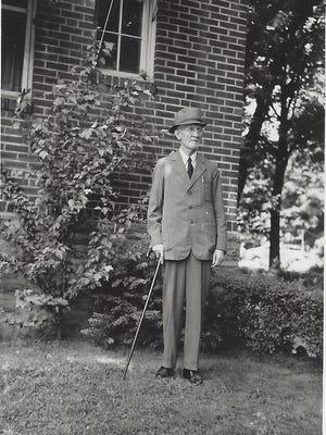 Albert Berg, Purdue's first football coach, in a photo circa 1930s.