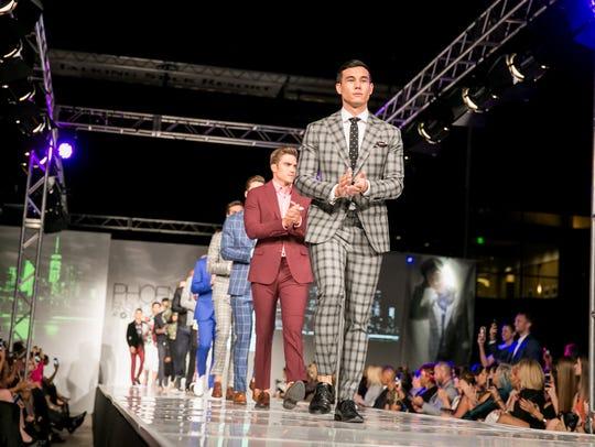 Elevee Lifestyle's runway during Phoenix Fashion Week