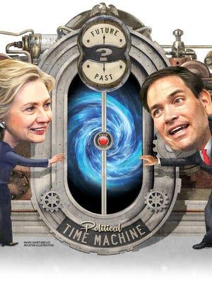 Hillary Clinton vs. Marco Rubio