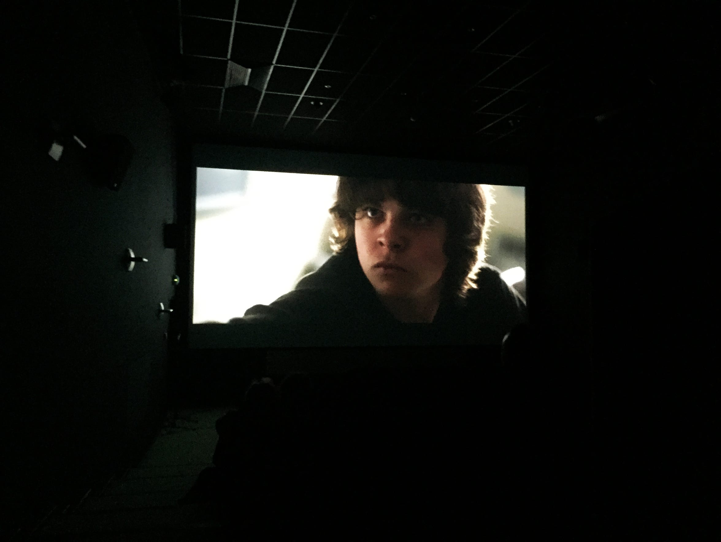 """Inside a screening of O'Donnell's short film """"Wolff's"""
