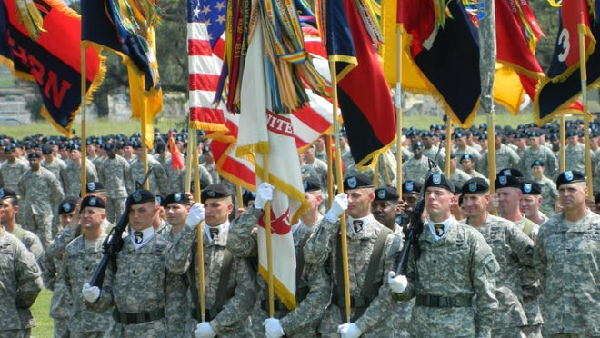 The Department of Defense announced Thursday that the Army will cut 363 troops at Fort Campbell. More than 12,000 soldiers of the 101st Airborne Division capped off Week of the Eagles with a division review at Fort Campbell on Thursday.