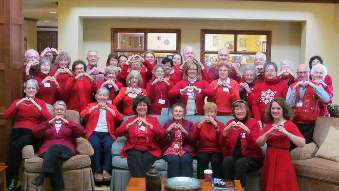 Residents and team members at Woodland Pond at New Paltz, are working hard to raise money for the Dutchess-Ulster Chapter in support of the American Heart Association's annual fundraising campaign.