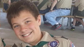 Reat Griffin Underwood, 14, and his grandfather were fatally shot in the parking lot behind the Jewish Community Center of Greater Kansas City.