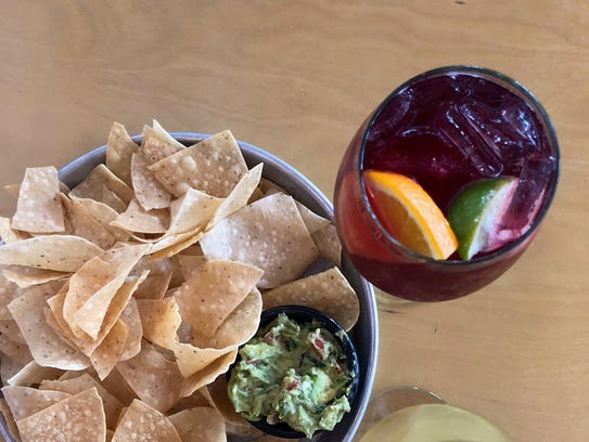 Pair an order of homemade guacamole with a red or white