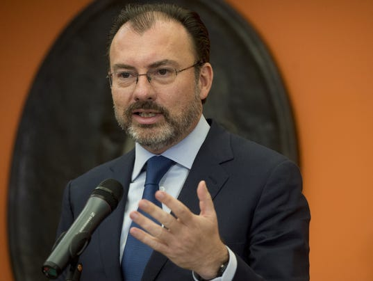 US-MEXICO-DIPLOMACY-VIDEGARAY